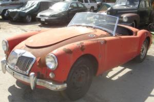 1958 MG MGA 1500 Convertible for restoration *LHD Project*
