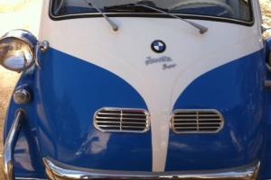 DREAM CAR - 1959 SKY BLUE & WHITE BMW ISETTA 300