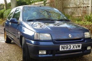 1995 RENAULT CLIO WILLIAMS 3 BLUE Photo