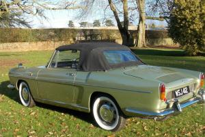 Great condition, 1964 Green Renault Caravelle coupe Photo