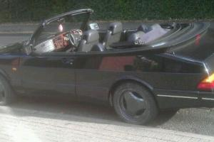 1993 Classic Saab 900 Aero S Convertible