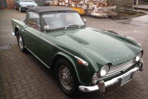 Triumph TR4a irs 1966 'Barn Find with a Difference' Great Car UK Registered