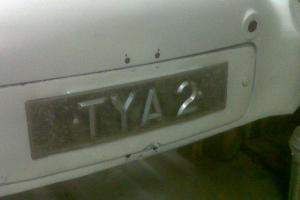 TRIUMPH TR2 ORIGINAL REG: TYA 2, from new,1955,PEARL WHITE