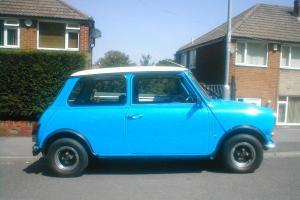1980 AUSTIN MINI 1000 BLUE