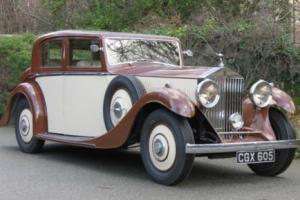 1935 Rolls-Royce 20/25 Freestone & Webb Saloon GLG69 Photo