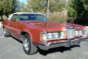 1973 MERCURY COUGAR XR7 CONVERTIBLE....CALIFORNIA CAR.. Photo