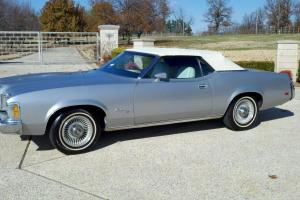 1973 MERCURY COUGAR XR7 CONVERTIBE A/C GEORGOUS LOW RESERVE MUST SEE! 60 PICS!