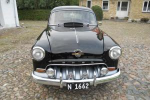 opel olympia rekord black 1953 oldtimer classic car for Sale