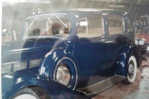 1937 PACKARD SUPER 8 1501 TOURING SEDAN WITH DIVIDER WINDOW