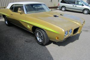 1970 Pontiac GTO , GTO JUDGE EMULATION CONVERTIBLE