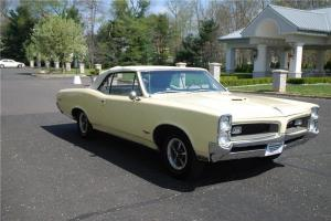 1966 Pontiac GTO Convertible (Real GTO) in factory color Candle Light Cream