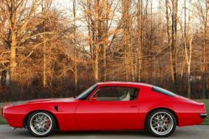 CODE RED!  Stunning Pro-Touring Trans Am, magazine car, Goodguys winner!