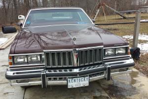 1979 Bonneville, Pontiac