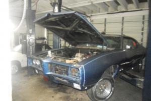 1969 PONTIAC GTO JUDGE, RARE, IN NEED OF RESTORATION