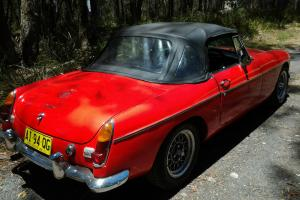 MG B 1969 Convertible With Overdrive in Lithgow, NSW Photo