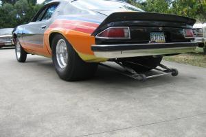 Chev Camaro 74 Drag PRO Street Burnout in Somerville, VIC