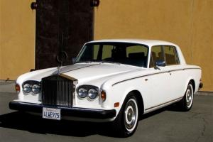 1979 Rolls Royce Silver Shadow II, Reliable California Car