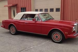 1986 Rolls Royce Corniche II beautiful dry rust free Western vehicle low miles