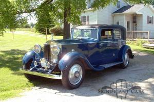 1932 Rolls-Royce 20/25 Gurney Nutting Sportsman - Show Ready! Rare Coachwork!