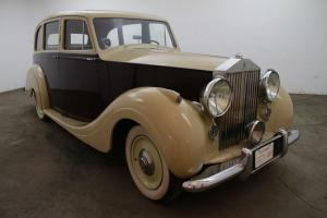 1950 Rolls-Royce Silver Wraith,Parkward body, an extremely rare left hand drive Photo