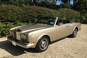 1985 Corniche in stunning Willow Gold Metalic Paint Photo