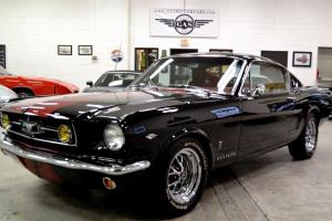 1965 FORD MUSTANG FASTBACK RESTORED SHELBY 289 HI-PO 4 SPEED A/C REAL NICE! Photo