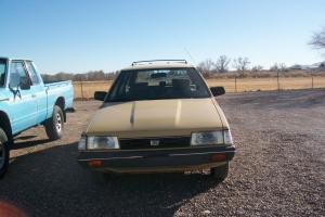 1986 Subaru GL 4WD Wagon NICE!!!