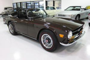 1969 Triumph TR6 Roadster - Restored - Beautiful - Rust Free - Redlines - WOW!!