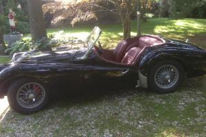 Classic 1959 Triumph tr3a