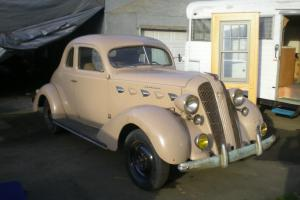 1937 Graham 95 Cavalier with Supercharger.
