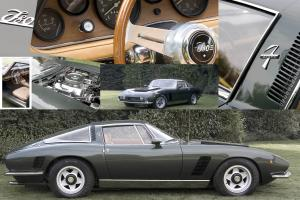 1970 - ISO Grifo GL 400 - 7 Litre | ZF 5-Speed | 1 of 70 original cars made !