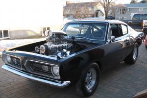 Plymouth : Barracuda Fastback