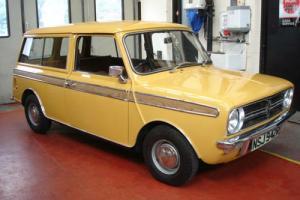 AUSTIN MINI, LEYLAND CARS MINI CLUBMAN 1100 ESTATE ONLY 5,000 MILES Photo