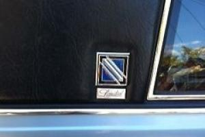 Rare 1981 Blue Buick Regal Limited V8 Coupe Original 17k miles