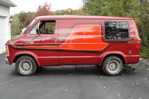 1979 Dodge B200 custom van