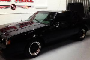 WE2 1987 BUICK GRAND NATIONAL 1 OF 1600 WITH ASTRO ROOF 1 OWNER  WE2