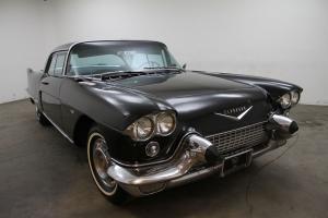 1957 Cadillac Eldorado Brougham,blk,beautiful stainless steel hardtop, automatic