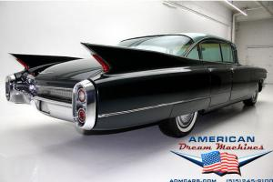 NEW LISTING!!! CHECK OUT THE FINS ON THIS DARK EMERALD GREEN METALLIC 1960 CADIL