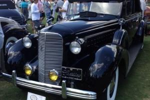 1936 CADILLAC FLEETWOOD CONVERTIBLE SEDAN.  Previous sale cancelled  wrong bid