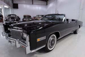 1976 CADILLAC ELDORADO CONVERTIBLE, LAST OWNER FOR OVER 28-YEARS!