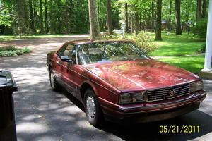 1987 Cadillac Allante Base Convertible 2-Door 4.1L