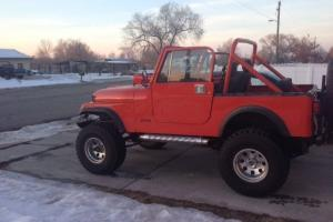 1982 Jeep cj7 fully rebuilt with a chevy 350
