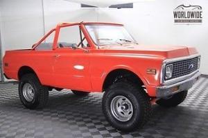 1972 Chevrolet K5 Blazer Full Restoration with GM 350 Crate engine 4X4 4 Speed