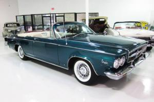 1963 Chrysler 300 Pace Setter Convertible - 360ci V8 - Factory A/C - Beautiful!!