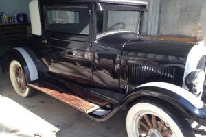 1925 Chrysler Coupe Restored