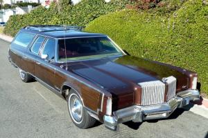 IMPERIAL LEBARON WAGON 440 RUST FREE LOADED TUFTED LEATHER GORGEOUS AND UNIQUE! Photo