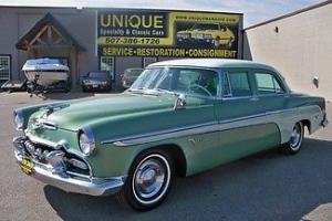 1955 DeSoto Firedome Sedan,runs and drives great! TRADES?