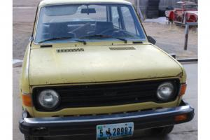 1976 Fiat 128  1300  Runs Great!