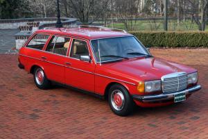 1981 MERCEDES-BENZ W123 EURO 4-SPEED 300TD 5-CYL. DIESEL WAGON (NON-TURBO)