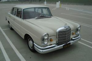 "1964 MERCEDES-BENZ W111 HECKFLOSSE ""FINTAIL"" 220SE*ULTRA-RARE FUEL-INJECTED for Sale"